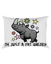 A FAT UNICORN Rectangular Pillowcase back