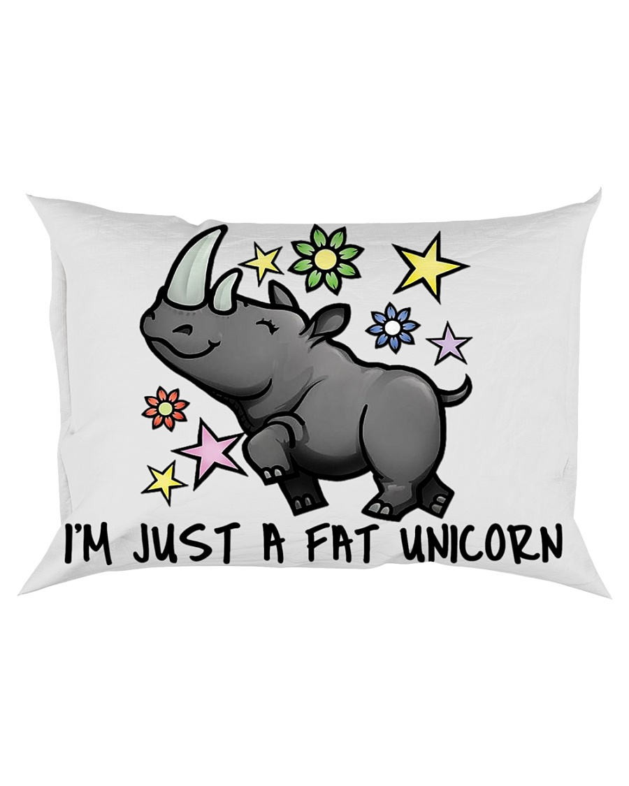 A FAT UNICORN Rectangular Pillowcase