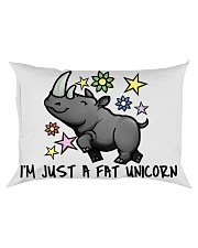 A FAT UNICORN Rectangular Pillowcase front