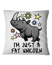 A FAT UNICORN Square Pillowcase thumbnail