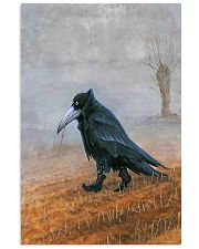 THE RAVEN - WATERCOLOR PRINTED - NEVERMORE 11x17 Poster front