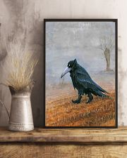 THE RAVEN - WATERCOLOR PRINTED - NEVERMORE 11x17 Poster lifestyle-poster-3