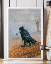 THE RAVEN - WATERCOLOR PRINTED - NEVERMORE 11x17 Poster lifestyle-poster-4