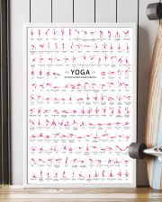 150 POSES FLAMINGO YOGA - LIMITED EDITION 16x24 Poster lifestyle-poster-4