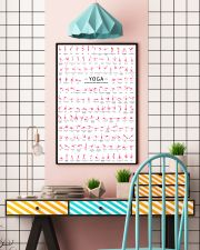 150 POSES FLAMINGO YOGA - LIMITED EDITION 16x24 Poster lifestyle-poster-6