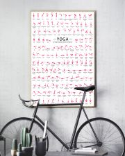 150 POSES FLAMINGO YOGA - LIMITED EDITION 16x24 Poster lifestyle-poster-7