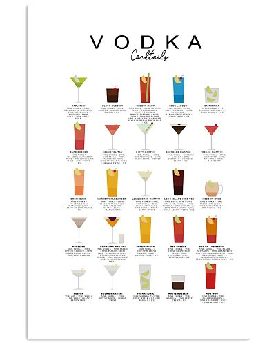 VODKA - COCKTAIL GUIDE - LIMITED EDITION
