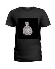 Louis Tomlinson  Silhouette Ladies T-Shirt thumbnail