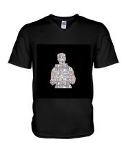 Louis Tomlinson  Silhouette V-Neck T-Shirt thumbnail