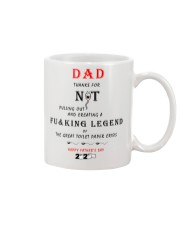 Father's day gift - Not pulling out mug Mug front