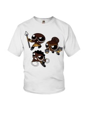 Nakia Okoye Shuri chibi shirt Youth T-Shirt thumbnail