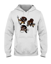 Nakia Okoye Shuri chibi shirt Hooded Sweatshirt tile