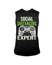 Social distancing expert  Sleeveless Tee tile