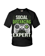 Social distancing expert  Youth T-Shirt thumbnail