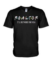 Realtor V-Neck T-Shirt thumbnail
