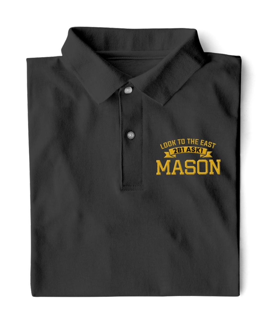 2B1 ASK1 Mason Embroidered Classic Polo