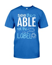 See the Able not the Label Premium Fit Mens Tee thumbnail