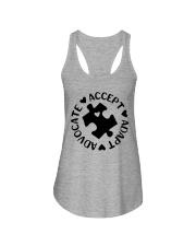 Accept Adapt Advocate Ladies Flowy Tank thumbnail