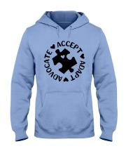 Accept Adapt Advocate Hooded Sweatshirt thumbnail
