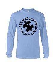 Accept Adapt Advocate Long Sleeve Tee thumbnail