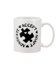 Accept Adapt Advocate Mug thumbnail