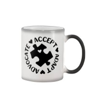 Accept Adapt Advocate Color Changing Mug thumbnail