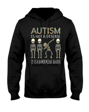 Autism i  not a disease Hooded Sweatshirt thumbnail