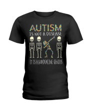 Autism i  not a disease Ladies T-Shirt thumbnail