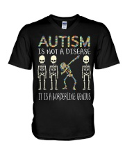 Autism i  not a disease V-Neck T-Shirt thumbnail