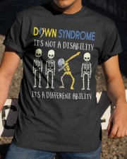 Down Syndrom it's not a disability Classic T-Shirt apparel-classic-tshirt-lifestyle-28