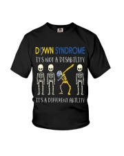 Down Syndrom it's not a disability Youth T-Shirt thumbnail