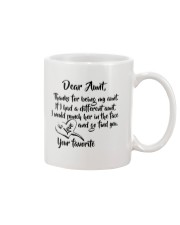 Dear aunt lovely nephew and niece Mug front