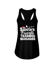 Santa's favorite Training Manager Ladies Flowy Tank thumbnail