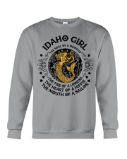 Idaho mermaid girl  Crewneck Sweatshirt front