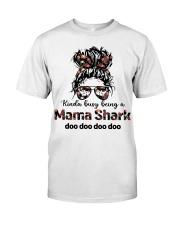 mama shark Premium Fit Mens Tee tile