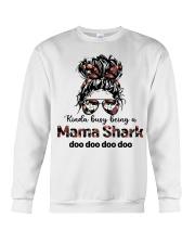 mama shark Crewneck Sweatshirt tile