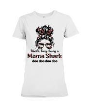 mama shark Premium Fit Ladies Tee tile