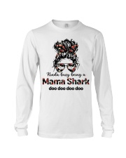 mama shark Long Sleeve Tee tile