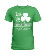 French Teacher Ladies T-Shirt front
