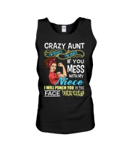 Crazy beauty and grace aunt with niece Unisex Tank thumbnail