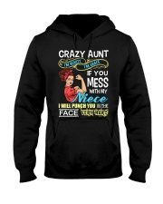 Crazy beauty and grace aunt with niece Hooded Sweatshirt thumbnail
