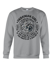 Ukrainian Dragon Crewneck Sweatshirt front