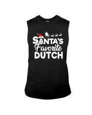 Santa's favorite Dutch Sleeveless Tee thumbnail