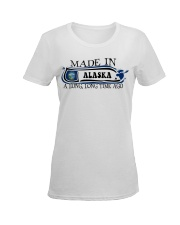 Alaska Ladies T-Shirt women-premium-crewneck-shirt-front