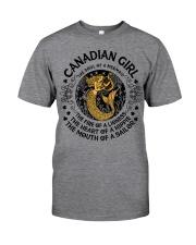 Canadian mermaid girl Classic T-Shirt thumbnail