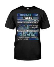 February Girl Facts Classic T-Shirt thumbnail