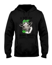 A wee bit Irish today - Heifer Hooded Sweatshirt thumbnail