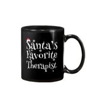 Santa's favorite Therapist Mug thumbnail