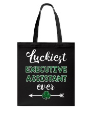 Luckiest Executive Assistant Ever Tote Bag thumbnail