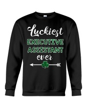 Luckiest Executive Assistant Ever Crewneck Sweatshirt thumbnail